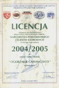Licencje i zaświadczenia